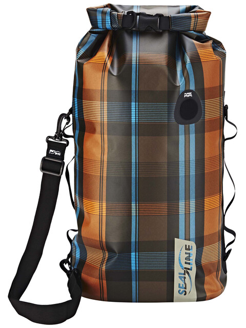 SealLine Discovery Deck Dry Bag 30l olive plaid
